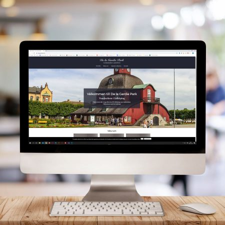 ny hemsida dator