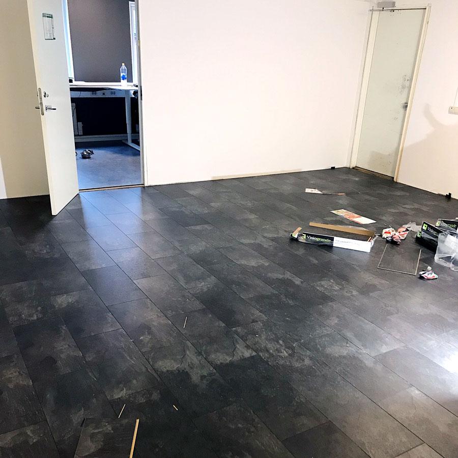 renovering av rum