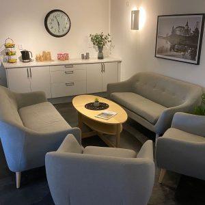 Lounge efter
